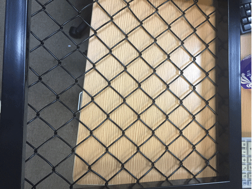 Chain link fence,Shenzhen,China